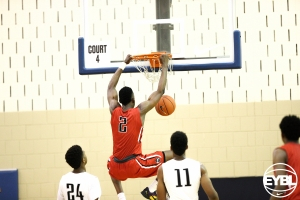 "2017 6' 8"" PF Jared Vanderbilt throwing down a monster slam. -Jon Lopez, Nike"