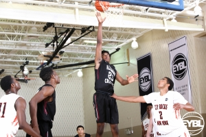 "Alabama Challenge 2017 6' 6"" SG John Petty Jr puts up a floater in the lane. -Jon Lopez, Nike"