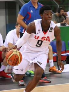 McDonald's All American Josh Jackson is the best uncommitted player in the senior class. -USA Basketball