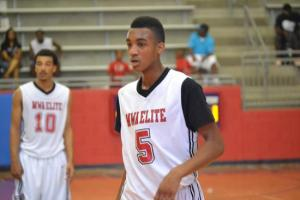Terrance Ferguson playing for Mo Williams Academy in the Association.