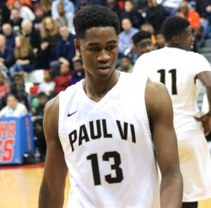 VJ King  playing for Paul VI (VA) in his junior year.