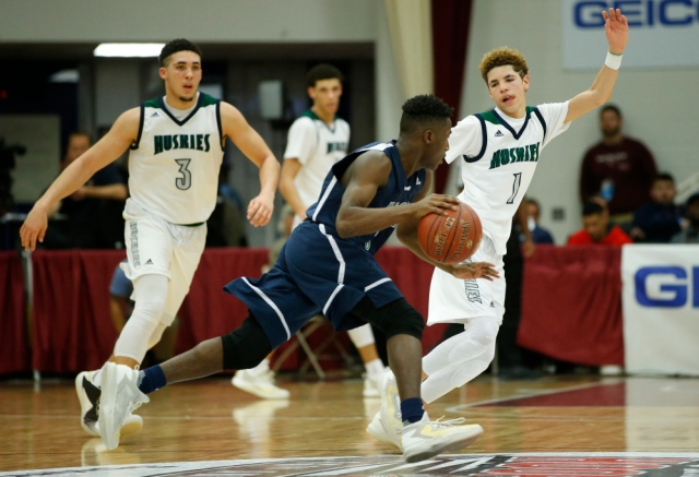 Chino Hills remains at the top spot in the ranking as the Ball brothers continue to dominate on offense and swarm on defense. -Photo by David Butler of USA Today