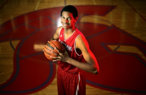 Jarrett Allen before his junior year in 2014-2015. (RODOLFO GONZALEZ / AMERICAN-STATESMAN)