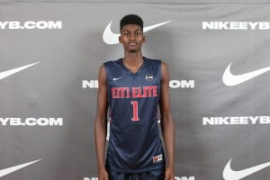 Florida State commit Jonathan Isaac playing for E1T1 Elite. -Jon Lopez Nike