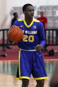 2017 PG Matt Coleman playing for his AAU team Boo Williams (VA).