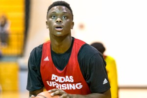 2016 Auburn-commit Mustapha Heron will look to lead Sacred Heart (CT) to another undefeated season. (Photo by Anthony Causi)