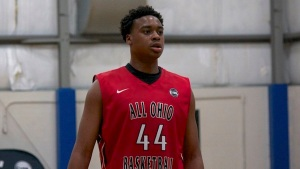 Nick Ward playing in the Nike EYBL for All Ohio Red (OH).