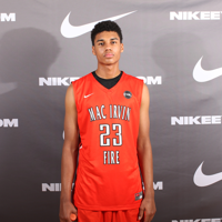 2017 Justin Smith played for Mac Irvin Fire (IL) in the Nike EYBL circuit.