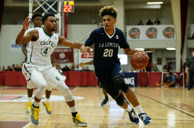 Brian Bowen helped lead La Lumiere to the 2016 Chick-Fil-A Classic title. Photo: USA Today