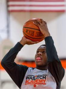 Koby Mcewan has been the catalyst to a very good Wasatch Academy (UT) squad.