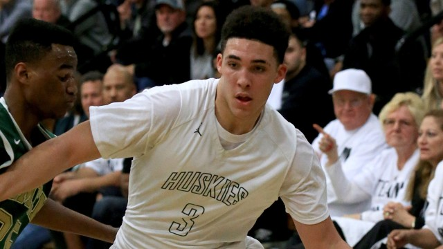 UCLA-commit LiAngelo Ball continues the family legacy, dropping 56 points and 72 points in consecutive nights. (Photo: Los Angeles Times)