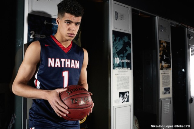 Michael Porter Jr has led Nathan Hale to a number one ranking, one year after a 3-18 finish.